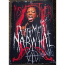 """""""Death Metal"""" Narwhal Posters (Autographed)"""