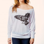 Women's Long Sleeve Raven Shirt- Front