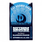 Southern Ground Music & Food Festival Digital Print - Charleston Oct. 20-21, 2012