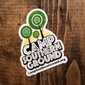 Camp Southern Ground Sticker