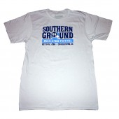 2014 Southern Ground Music & Food Festival Charleston Event Tee - Silver