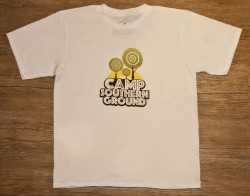 Camp Southern Ground Youth Tee Shirt (White)
