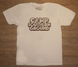 Camp Southern Ground Tee Shirt - White
