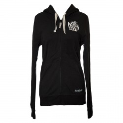 ZBB Women's Embroidered Carhartt Hooded Track Jacket