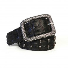 Crocodile Skull - Black