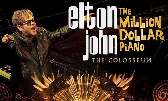ELTON JOHN: THE MILLION DOLLAR PIANO - (BLU-RAY)