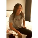 Girl on Guy Tees -  heather grey