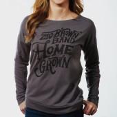 Women's Homegrown Long Sleeve Shirt