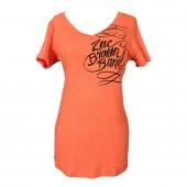 Women's Signature Orange V-Neck